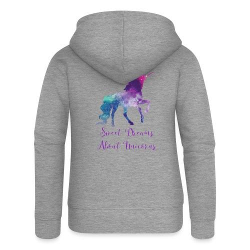 Unicorn Dream Shirt - Vrouwenjack met capuchon Premium
