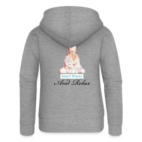 Buddha - Vrouwenjack met capuchon Premium