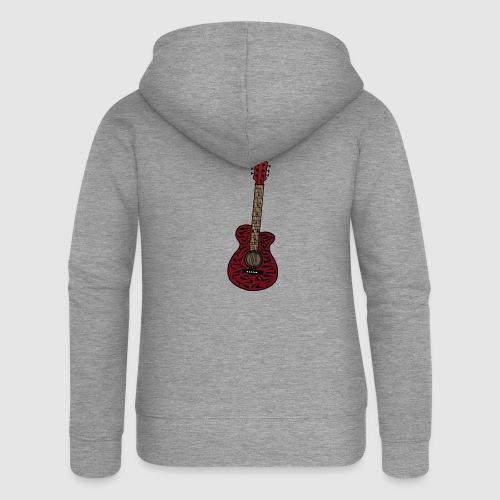 Gitarre - Frauen Premium Kapuzenjacke