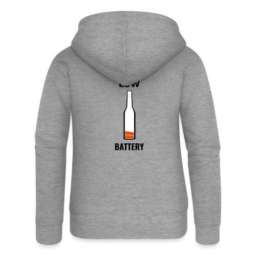 Beer Low Battery - Veste à capuche Premium Femme