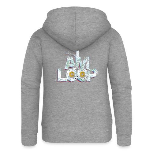 I AM LOOP - Frauen Premium Kapuzenjacke