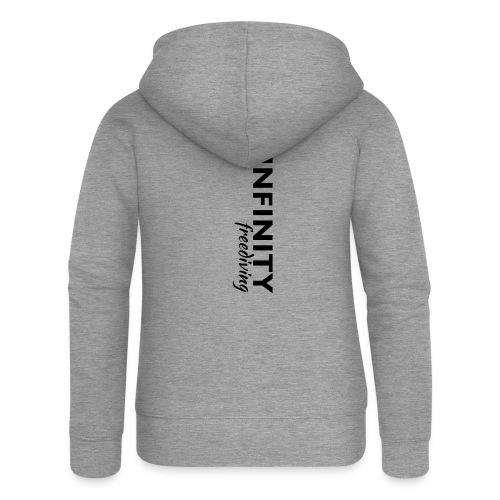 Infinity - Frauen Premium Kapuzenjacke
