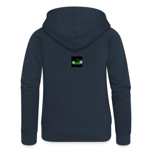 Green eye - Women's Premium Hooded Jacket