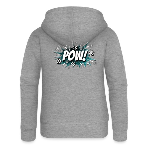 POW! - Women's Premium Hooded Jacket