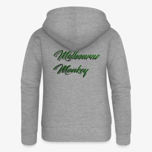 Melbourne Monkey 2 - Veste à capuche Premium Femme