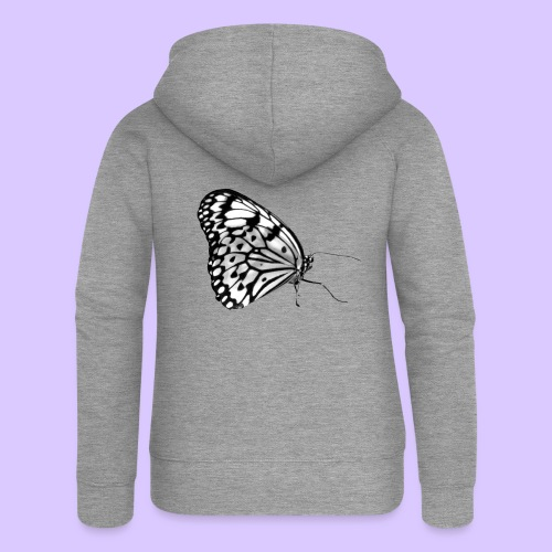 Schmetterling, Schmetterlinge, Insekt, Natur - Frauen Premium Kapuzenjacke