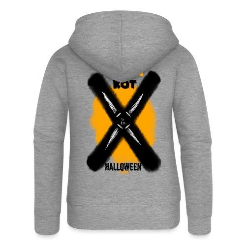 HALLOWEEN Edition - Rozpinana bluza damska z kapturem Premium