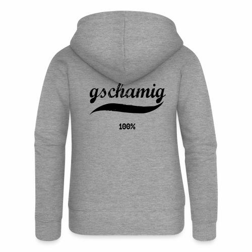 gschamig - Frauen Premium Kapuzenjacke