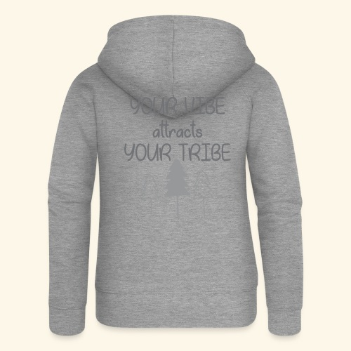 VIBE attraction - Women's Premium Hooded Jacket