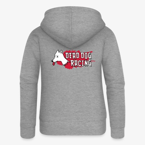 Dead dog racing logo - Women's Premium Hooded Jacket