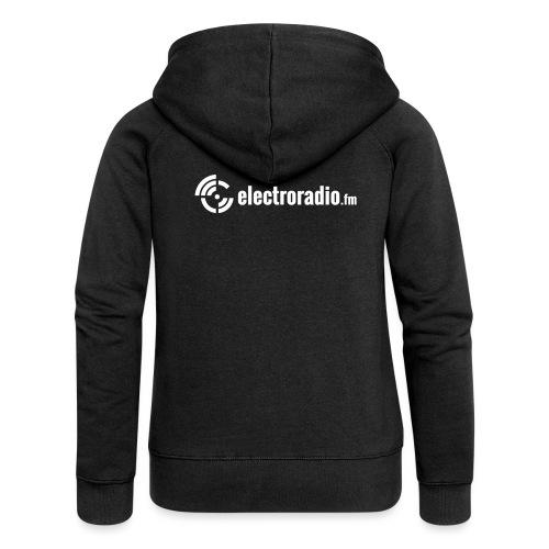 electroradio.fm - Women's Premium Hooded Jacket