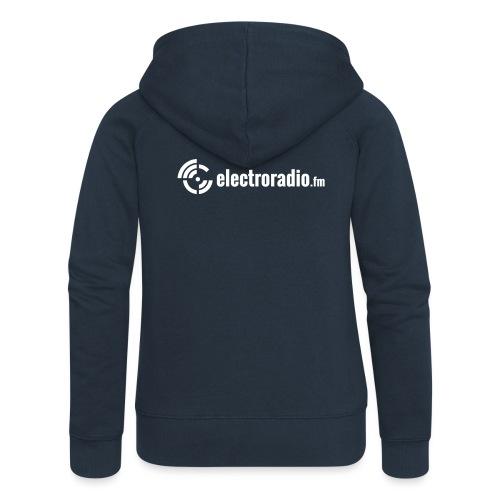 electroradio.fm - Women's Premium Hooded Jacket