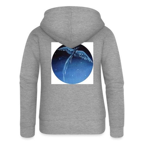 Oiseau Bleu 1 - Veste à capuche Premium Femme
