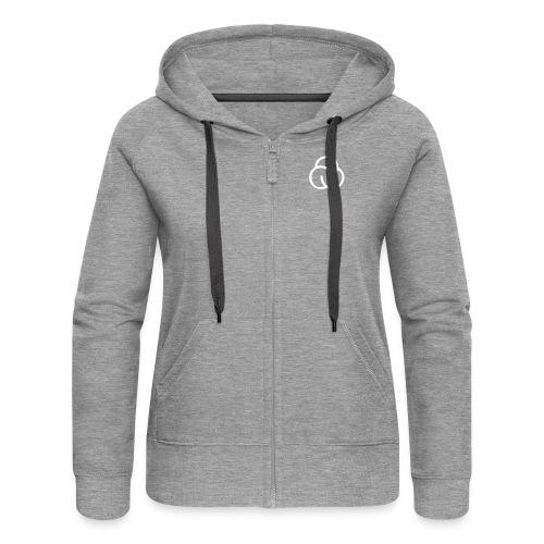 spinlab front sih back - Frauen Premium Kapuzenjacke
