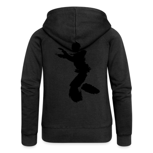 Wing Chun / Kung Fu Tusche Figur VEKTOR - Women's Premium Hooded Jacket