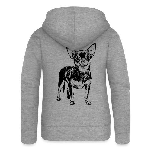 Chihuahua Hunde Design Geschenkidee - Frauen Premium Kapuzenjacke