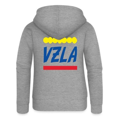vzla 01 - Chaqueta con capucha premium mujer