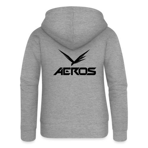 Aeros LOGO 2016 final - Vrouwenjack met capuchon Premium