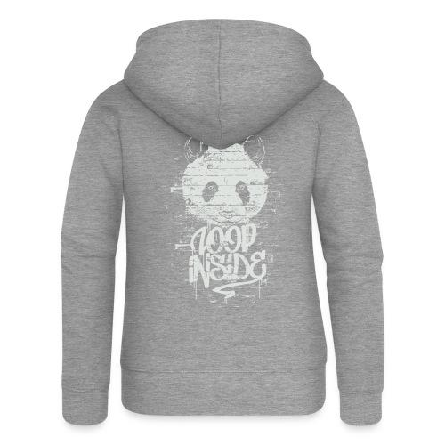 Graffiti Panda Inside - Frauen Premium Kapuzenjacke