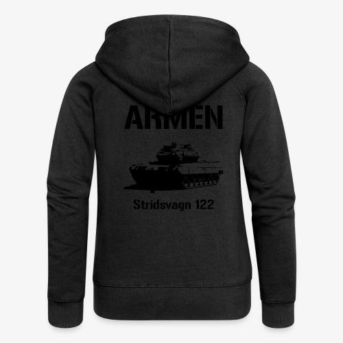 ARMÉN - Stridsvagn 122 - Premium luvjacka dam