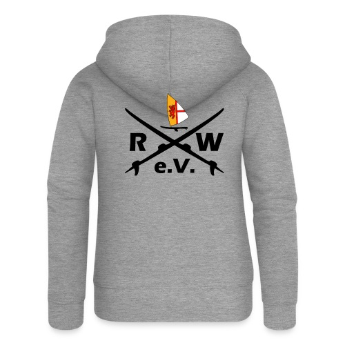 RWeV Boards Black - Frauen Premium Kapuzenjacke