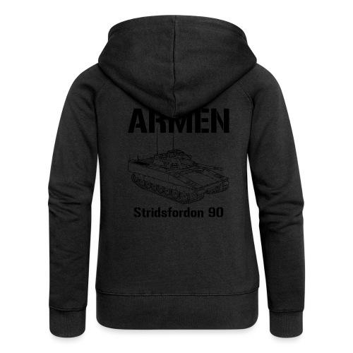 Armén Stridsfordon 9040 - Premium luvjacka dam