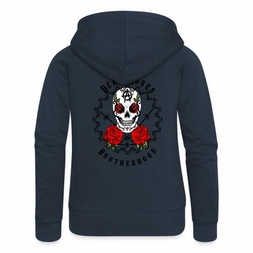 Dead Roses 2nd Logo - Women's Premium Hooded Jacket