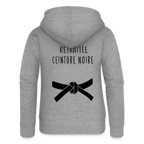 RETRAITEE CEINTURE NOIRE - Veste à capuche Premium Femme
