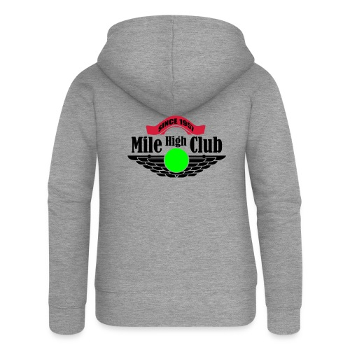 mile high club - Vrouwenjack met capuchon Premium