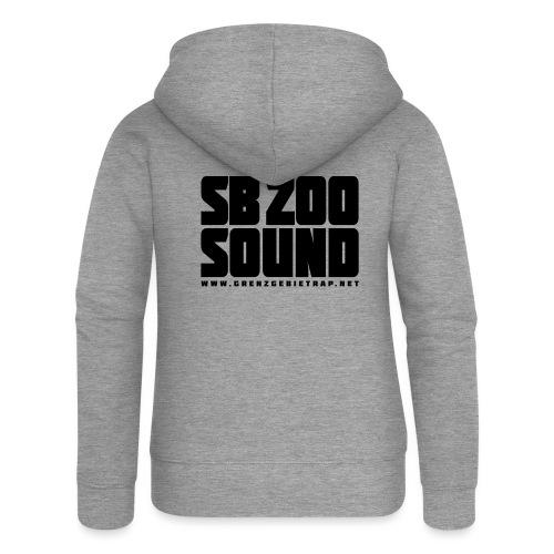 SB ZOO SOUND Blockbuster - Frauen Premium Kapuzenjacke