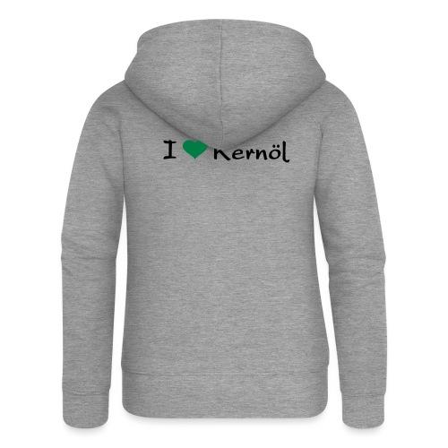 I mog Kernöl - Frauen Premium Kapuzenjacke