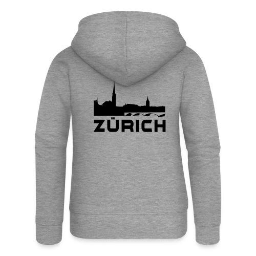 Zürich - Frauen Premium Kapuzenjacke