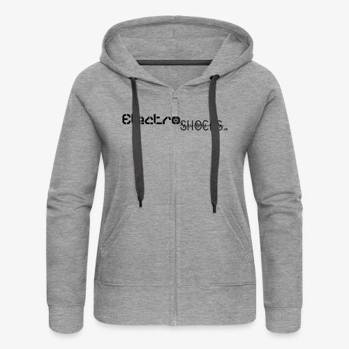 ElectroShocks BW siteweb - Veste à capuche Premium Femme