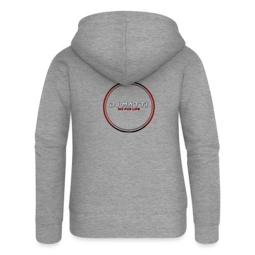 DJ Matti Official Merchandise - Women's Premium Hooded Jacket