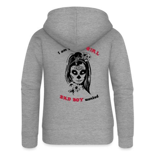 Badgirl - Frauen Premium Kapuzenjacke