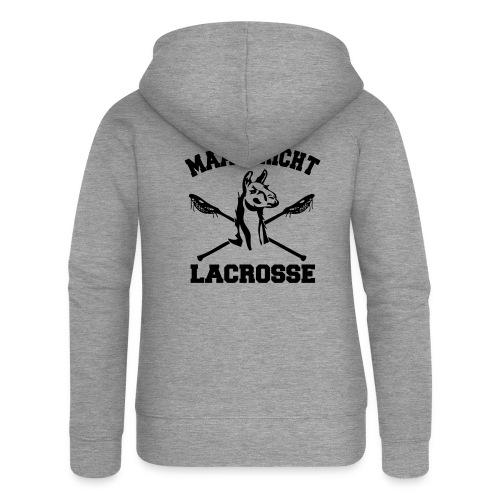 Maastricht Lacrosse - Black - Vrouwenjack met capuchon Premium