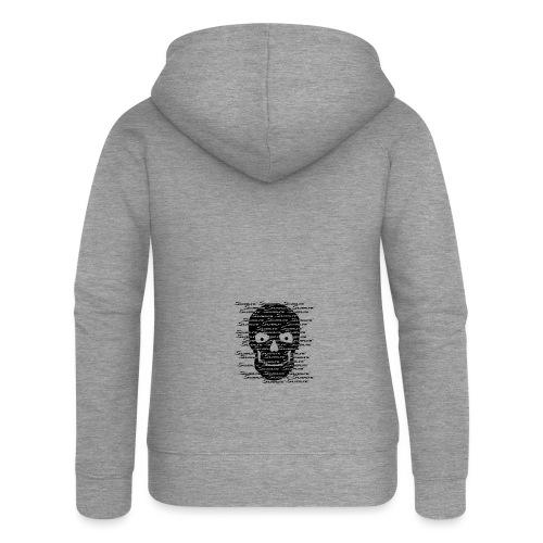 Silverline Skull Schwarz - Frauen Premium Kapuzenjacke