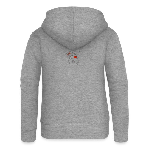 The Cake Is A Lie - Women's Premium Hooded Jacket