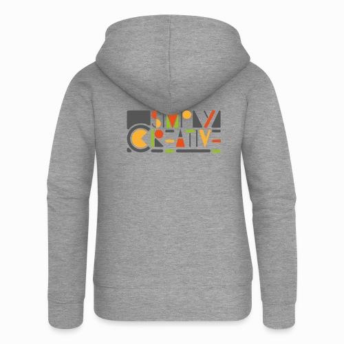 Simply creative - Women's Premium Hooded Jacket