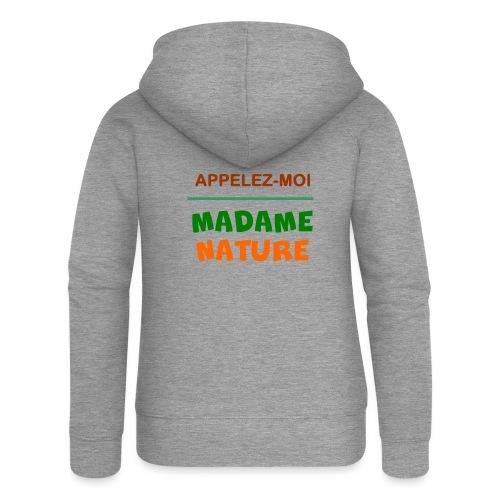 MADAME NATURE - Veste à capuche Premium Femme