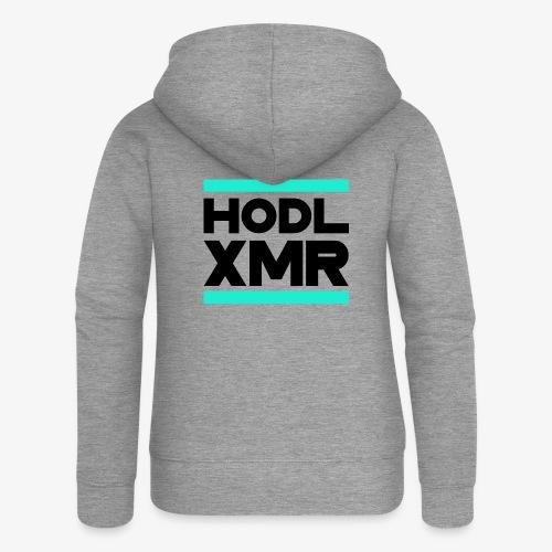 HODL runxmr-b - Women's Premium Hooded Jacket