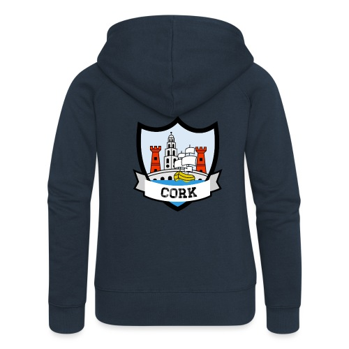 Cork - Eire Apparel - Women's Premium Hooded Jacket