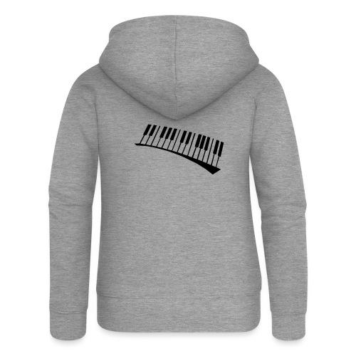 Piano - Chaqueta con capucha premium mujer