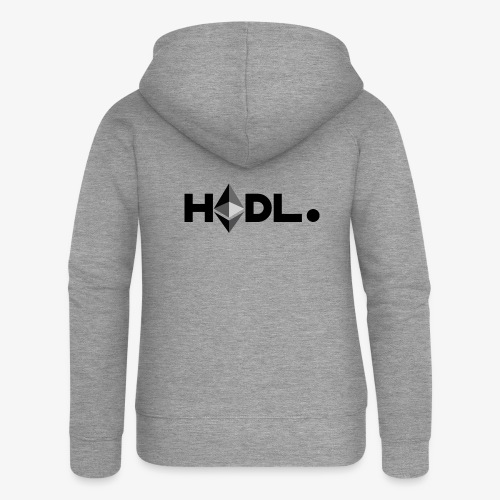 HODL eth-b - Women's Premium Hooded Jacket