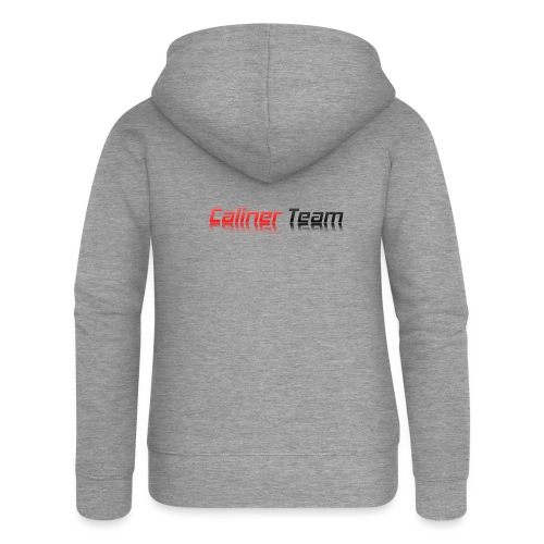 Caliner Team Tazza - Felpa con zip premium da donna