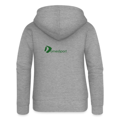 Logo DomesSport Green noBg - Frauen Premium Kapuzenjacke