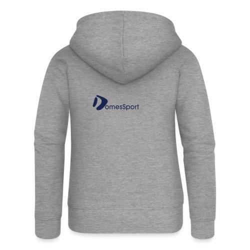 Logo DomesSport Blue noBg - Frauen Premium Kapuzenjacke
