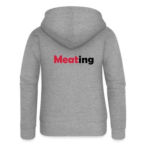 Meating - Frauen Premium Kapuzenjacke