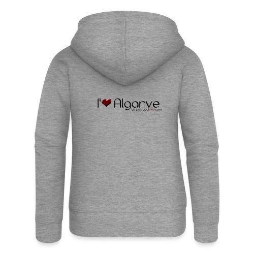 I Love Algarve - Veste à capuche Premium Femme