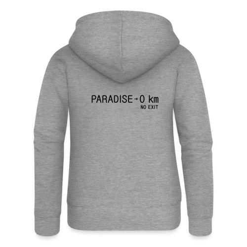 paradise0km - Frauen Premium Kapuzenjacke